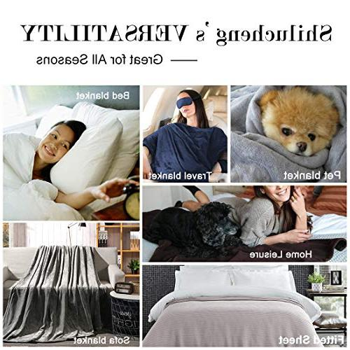 Shilucheng Super Fuzzy Plush King Couch Bed Ivory