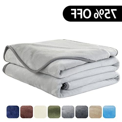 luxury super soft blanket summer