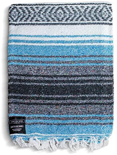mexican blanket authentic falsa thick