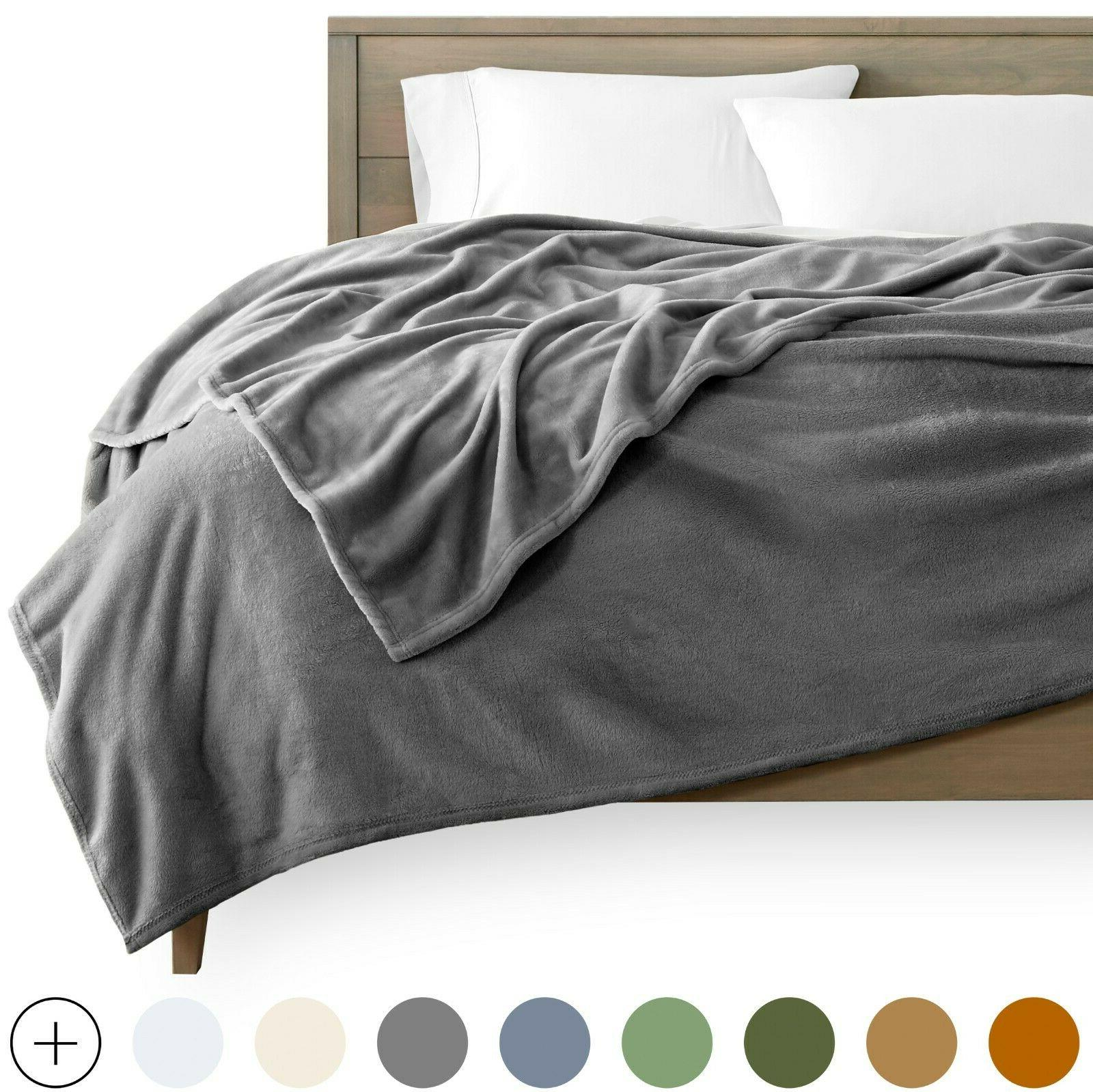 microplush velvet fleece blanket premium ultra soft