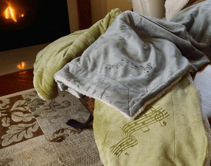 Music Note Blanket - 3 Colors - 50x60