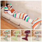 New! Coral Plush Fishtail Air Conditioner Blanket Bow Tie Pi