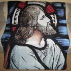 New Jesus Fleece Throw Blanket Spiritual Religious Gift Stai