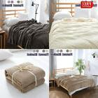 New Soft Warm Micro Plush Fleece Throw Rug Bedding Blanket T