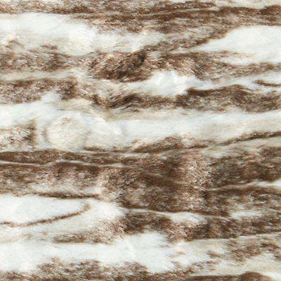 "NEW Stone & Beam Marble Faux Blanket, 80"" x Brown"