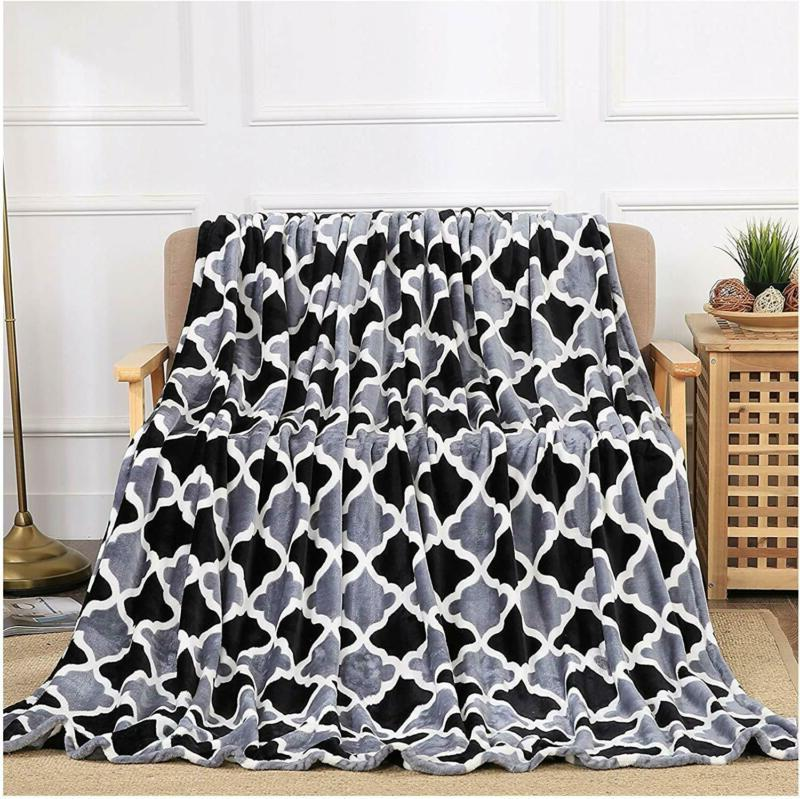 All American Collection New Super Soft Printed Throw Blanket