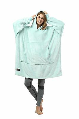 Oversized Blanket Hoodie with
