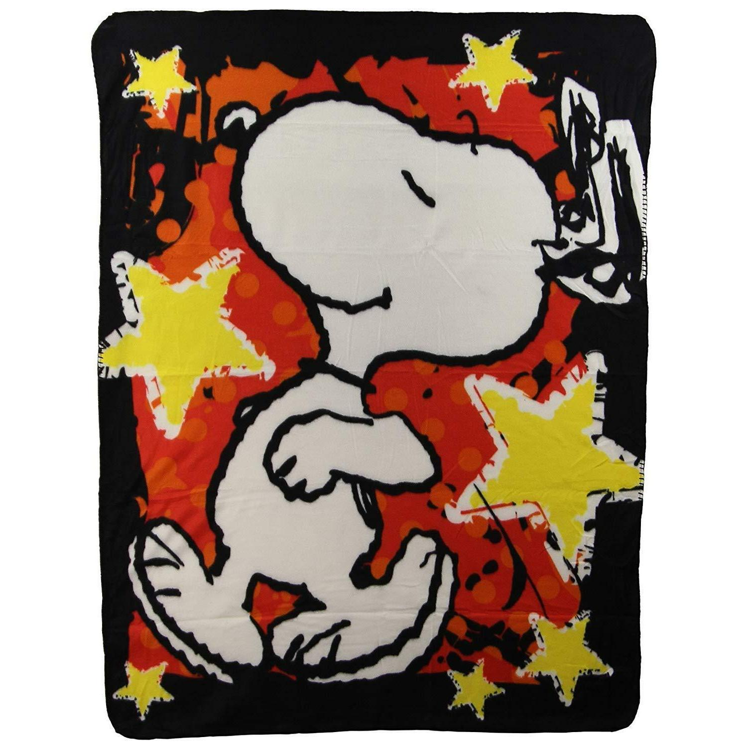 peanuts snoopy star treatment stars red gold