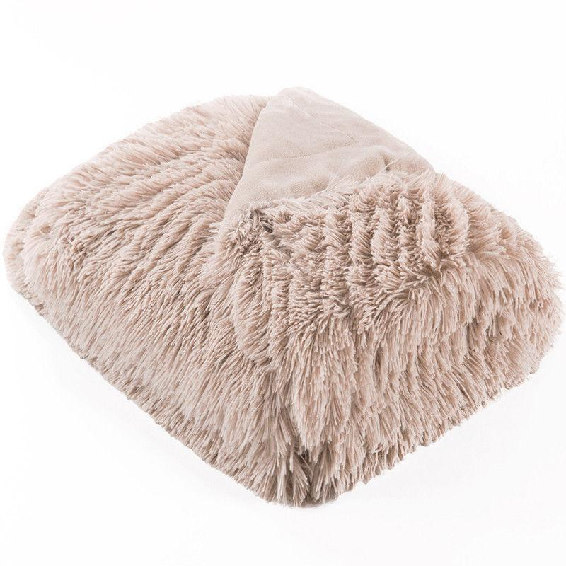 Bedsure Faux Fur Reversible Blanket Soft