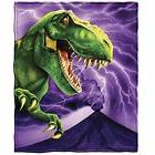 Purple T-Rex Dinosaur Blanket Throw Blanket Kids Gift Idea 5