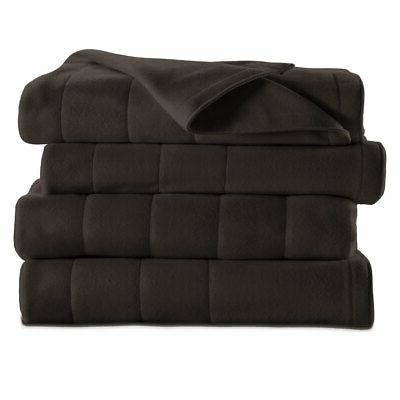 Sunbeam Quilted Electric Heated Warming Blanket