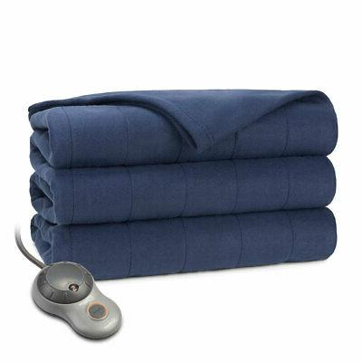 Sunbeam Quilted Heated Warming Blanket