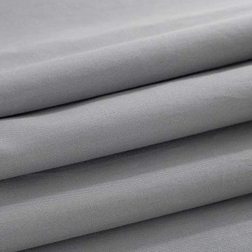 """Removable for Weighted Throw Inner Zipper Tie for Bed Sofa Couch Grey 48""""x72"""""""