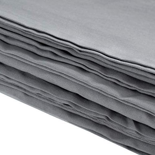 """Removable Cotton for Throw Layer Zipper Tie Sofa Couch Grey 48""""x72"""""""