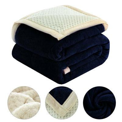 Reversible 3 Soft Thick Blanket Twin/Full/Queen Size