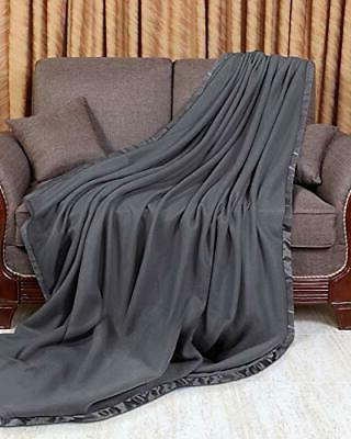 sateen polar fleece blanket