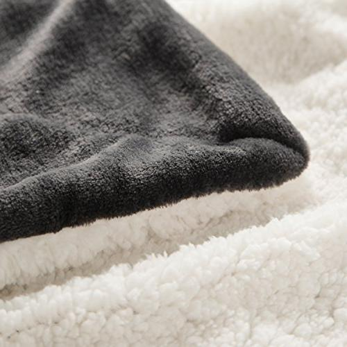 Sherpa Bed Queen 90x90 Bedding Fleece for Bed and