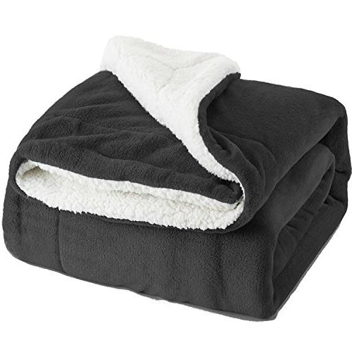 Sherpa Bed Queen size Fleece Reversible Large for Bed Couch