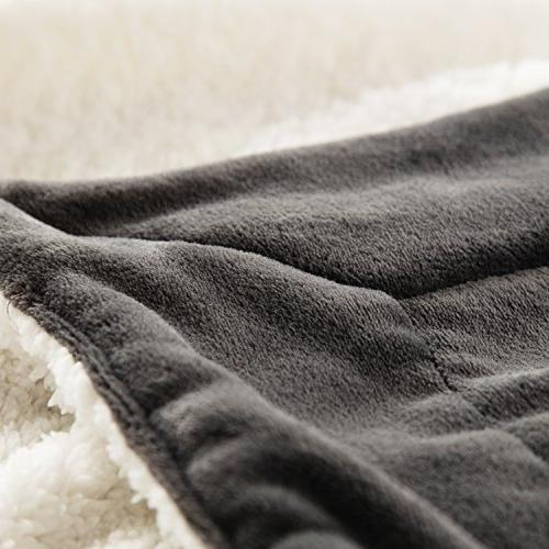 Sherpa Blanket Queen size Fleece for Couch