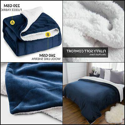BEDSURE Fleece Twin Shipping
