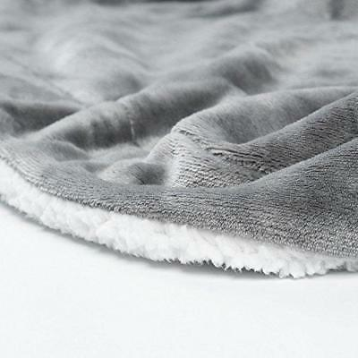 BEDSURE Sherpa Twin Size Throw Fuzzy