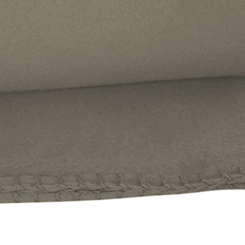 Imperial Home Cozy X Fleece Blanket -Gray