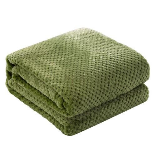 Blanket Flannel Fleece Lightweight Chair Sofa