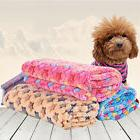 Soft Warm Pet Fleece Blanket Bed Mat Pad Cover Cushion For D