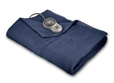 sunbeam quilted fleece heated blanket bsf9gfs r595