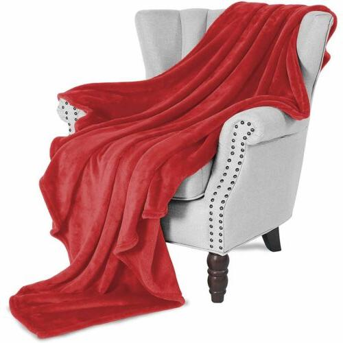 Super Comfy Throw Blanket for Sofa/Bed/Chair