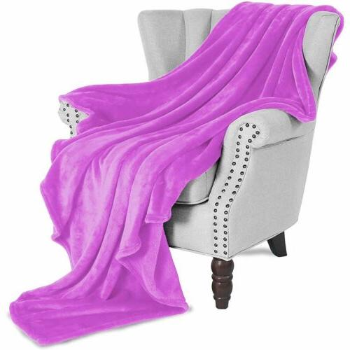 Super Weight Warm Throw Blanket for Sofa/Bed/Chair