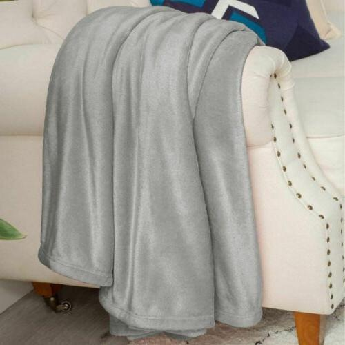Super Comfy Soft Weight Throw for