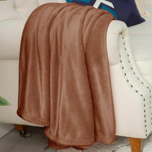 Super Soft Weight Warm Throw for Sofa/Bed/Chair
