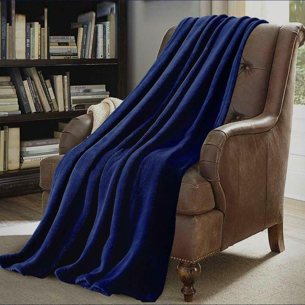 Super Soft Coral Throw Blanket for