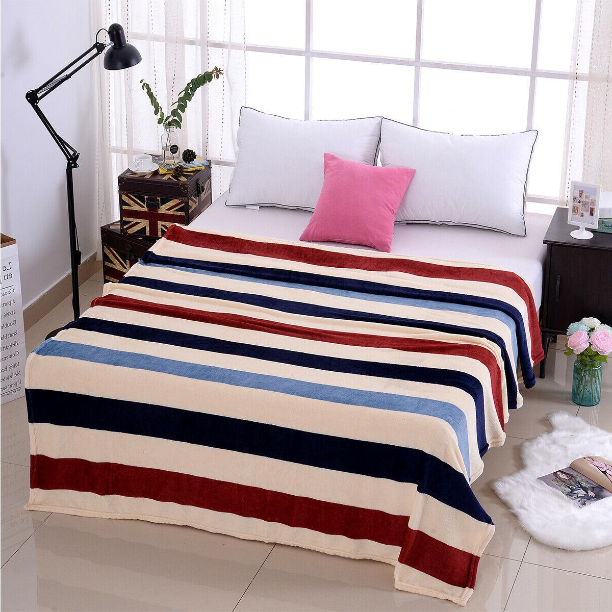 Supersoft Blanket Plush Decor Cal
