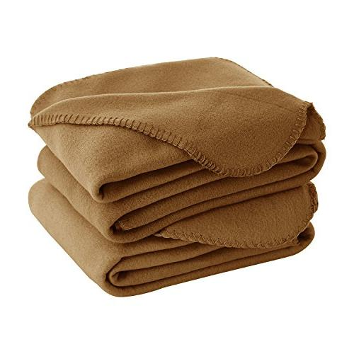 thermal soft brush microfiber fleece