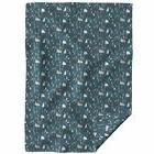 Throw Blanket Forest Night Fir Tree Camping Outdoors Alpine