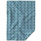Throw Blanket Indigo Elizabeth Ivie Ivieclothco Triangles Na
