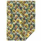 Throw Blanket Sunflower Floral Golden Yellow Sunflowers Pain
