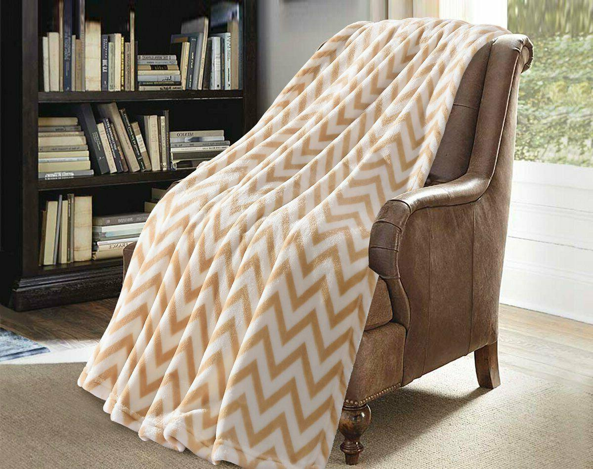 Super Soft Coral Warm Blanket for Couch/Sofa/Bed/Chair