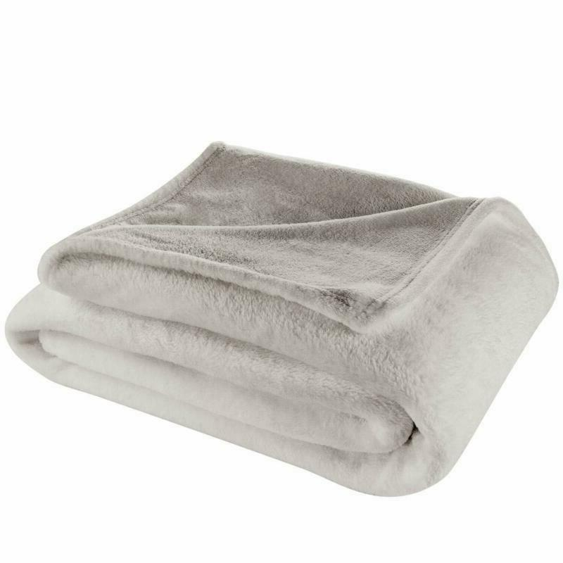 throw size fleece blanket all season lightweight