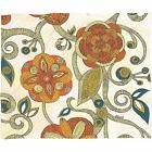 Deny Designs Valentina Ramos Orange Flowers Fleece Blanket 8