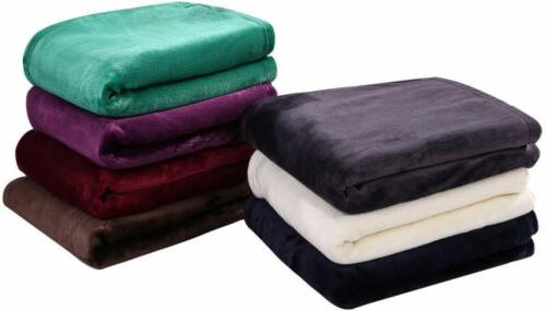 HYSEAS Throw, Light Weight Plush Luxurious Super Throw,