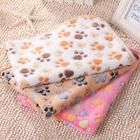 warm pet blanket small large paw print