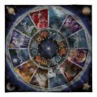 "Zodiac - by David Penfound - Fleece Blanket Throw - 58"" x 58"