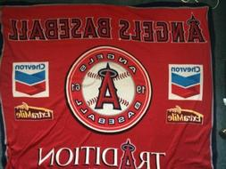 LA Angels Tradition Fleece Blanket  SGA  8/24/10  New In Bag
