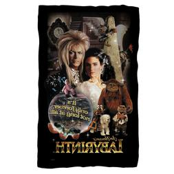 """Labyrinth """"Only Forever"""" Fleece Blanket - 36x58"""