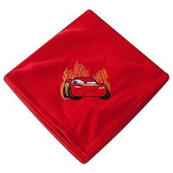 "Lightning McQueen Red Fleece Throw - 50"" x 60"""