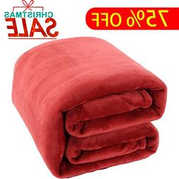 Shilucheng Luxury Fleece Blanket by Super Soft and Warm Fuzz