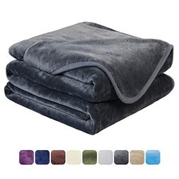 EASELAND Soft Queen Size Blanket All Season Warm Fuzzy Micro